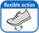 Maximum sole flexibility
