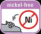 Części metalowe nie zawierają niklu