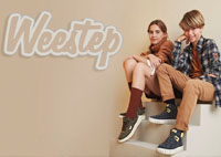 The world's most popular brand Weestep